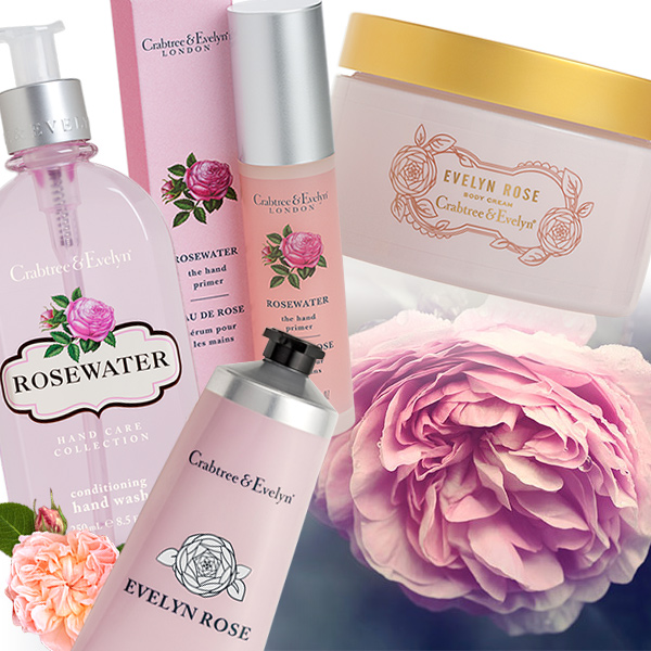 Rose Flower Bath And Body
