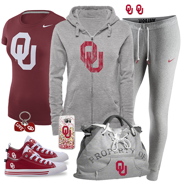 Cute Oklahoma Sooners Fan Fashion
