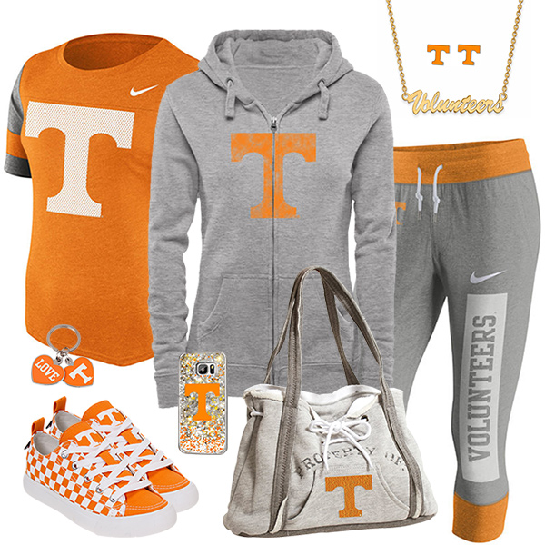 Cute Tennessee Vols Fan Fashion