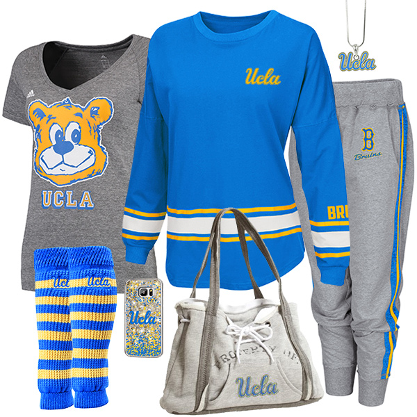 Cute UCLA Bruins Fan Fashion