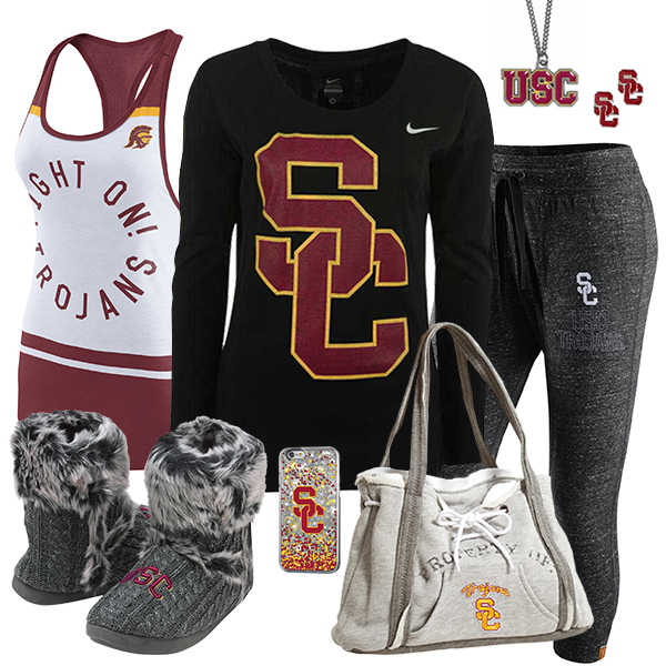 Cute USC Trojans Fan Fashion