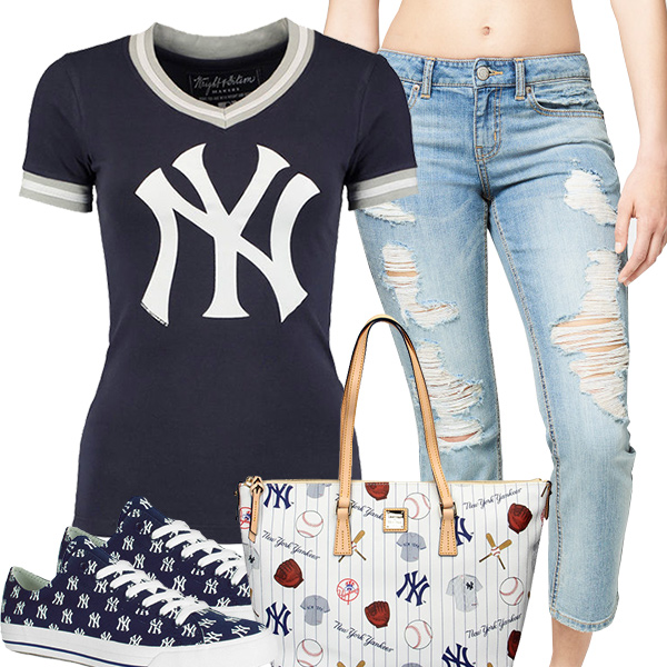 Cute Yankees Fan Fashion