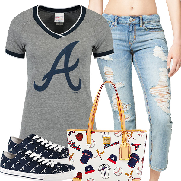 Cute Braves Fan Fashion