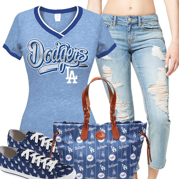 Cute Dodgers Fan Fashion