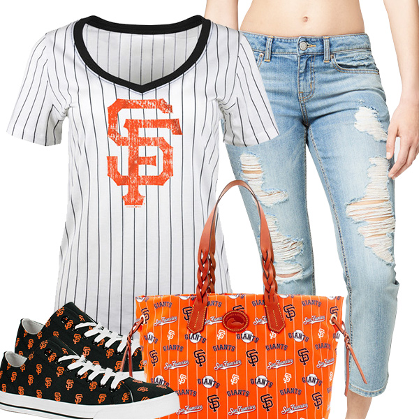 Cute Giants Fan Fashion
