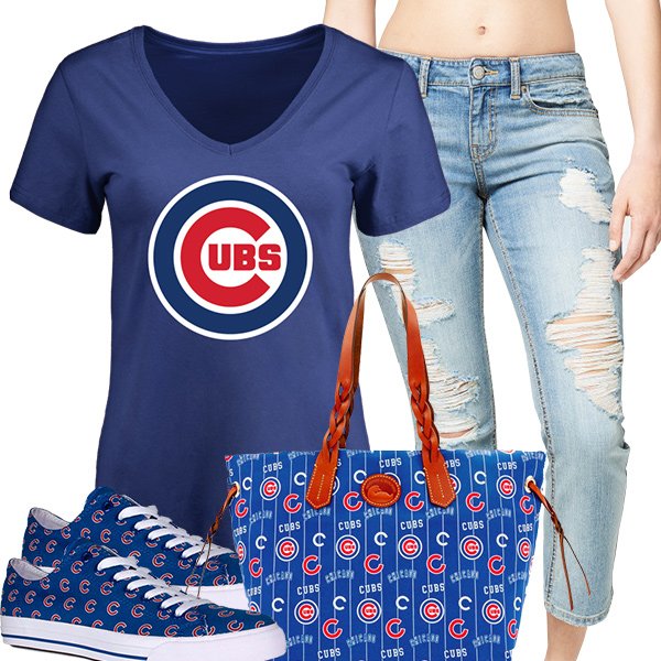 Cute Cubs Fan Fashion