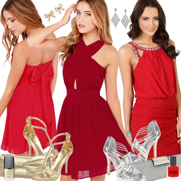 Red New Years Dresses