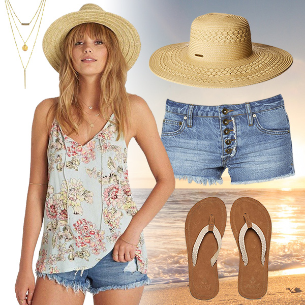 Surfer Girl Fashion Inspiration