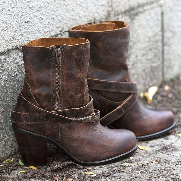 Cute Western Ankle Boots