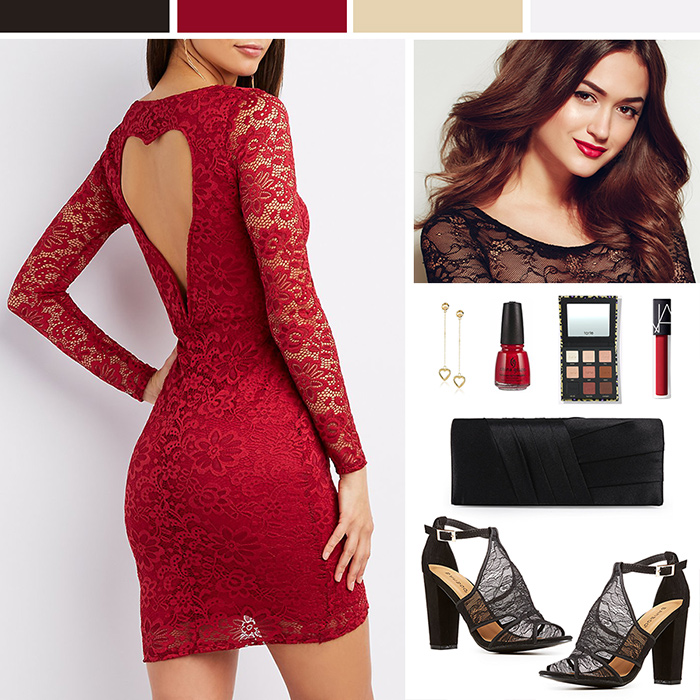 Red Valentine's Day Dress Inspiration
