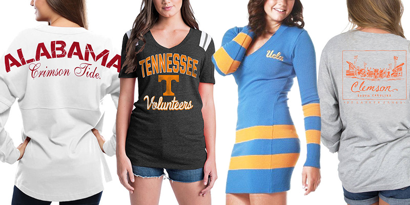 Cute College Football Fan Gear
