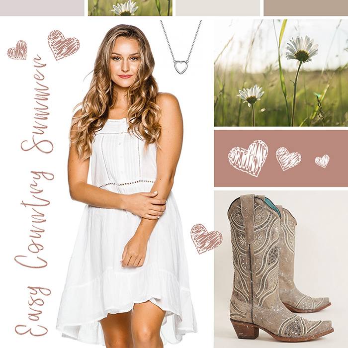 Country Girl Summer Dress