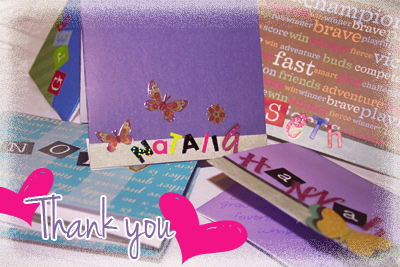 Handmade Thank You Letters