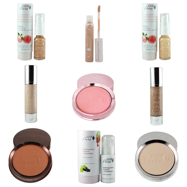 Natural Organic Gluten Free Face Makeup