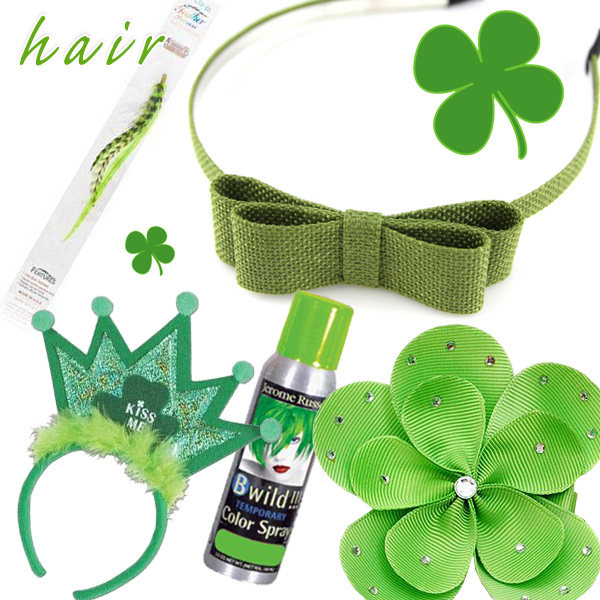St. Patrick's Day Hair Ideas