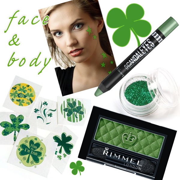 St.  Patrick's Day Face & Body MakeUp