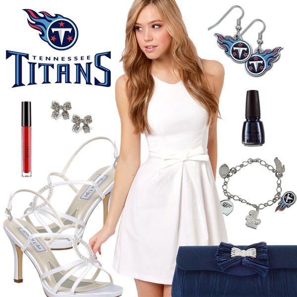 Women's Tennessee Titans Fantasy Dress Look