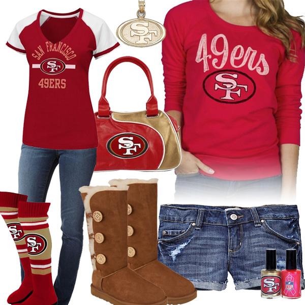 San Francisco 49ers Women's Apparel | JCPenney - Sports Fan Shop