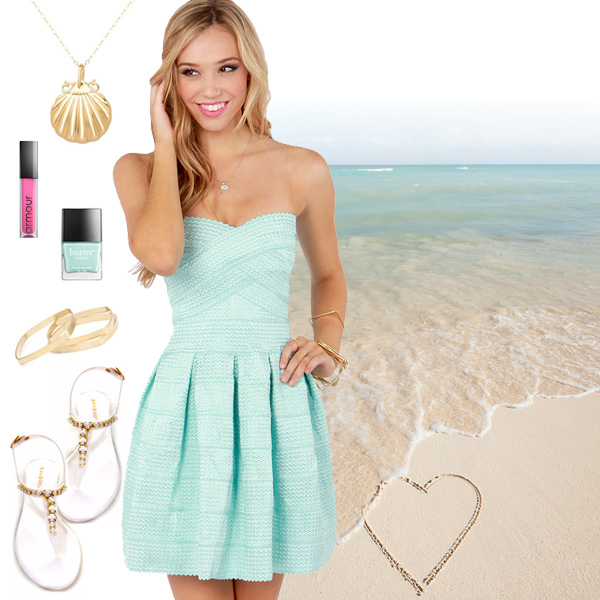 Cute Summer Dresses White Summer Dresses Pastel Summer Dresses