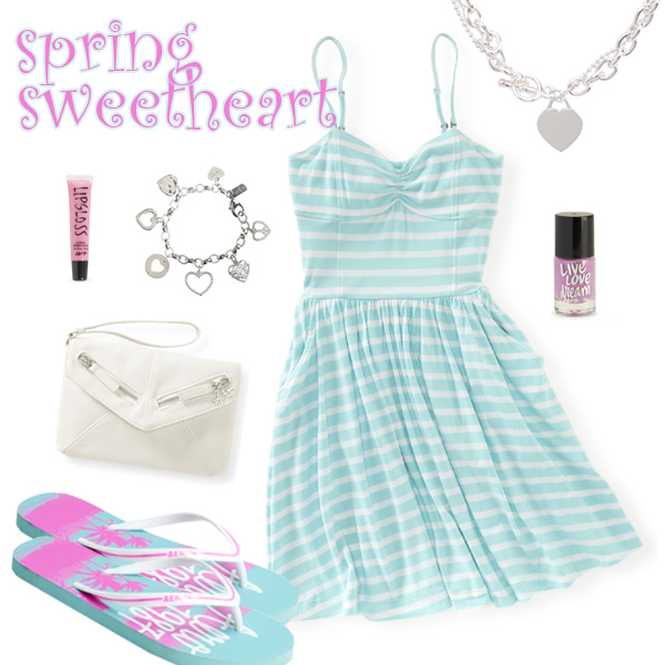 Teen Girls Cute Spring Dresses