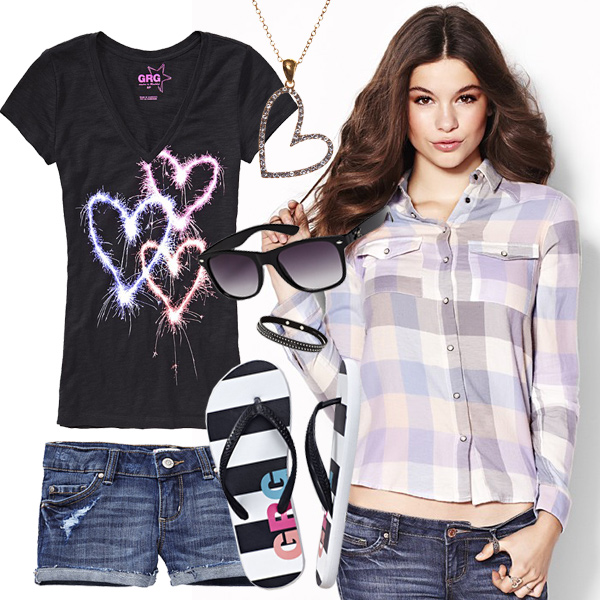 Garage Trendy Teen Outfits