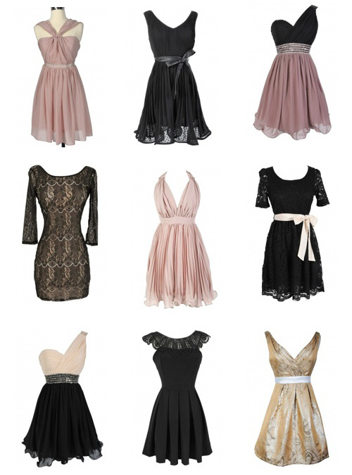 2012 Holiday Party Dresses Winter Formal Dresses New