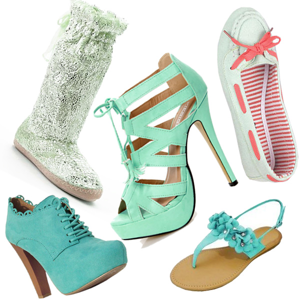 mint bootie mint green cutout platform heels mint green boat shoe mint