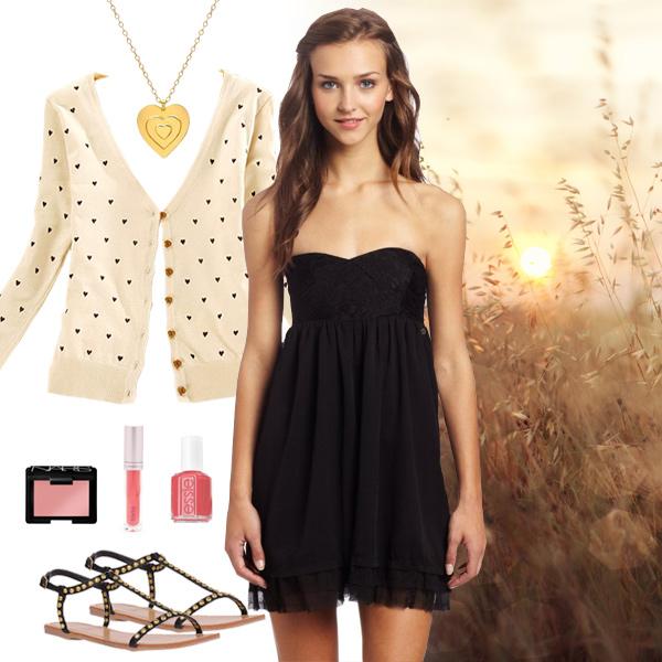 Little Black Babydoll Dress Roxy Strapless Little Black Cocktail Dress