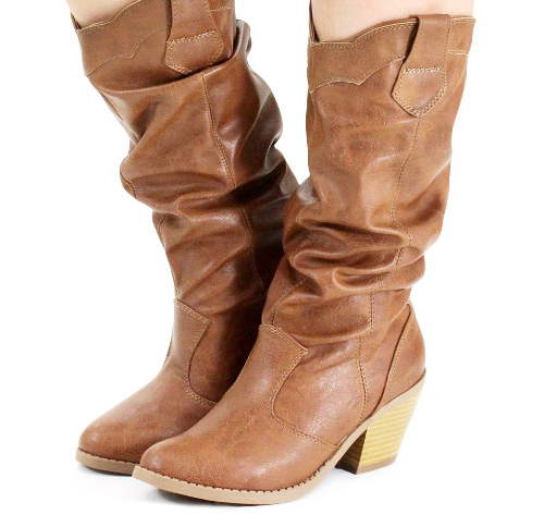 Slouchy Cowboy Boots, Girly Cowboy Boots, Sexy Cowboy Boots