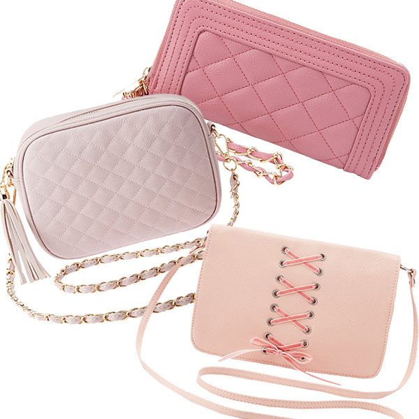 Affordable Pink Girly Handbags
