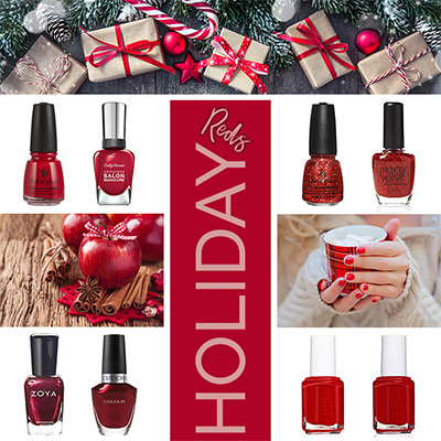 Holiday Red Nail Polish Colors